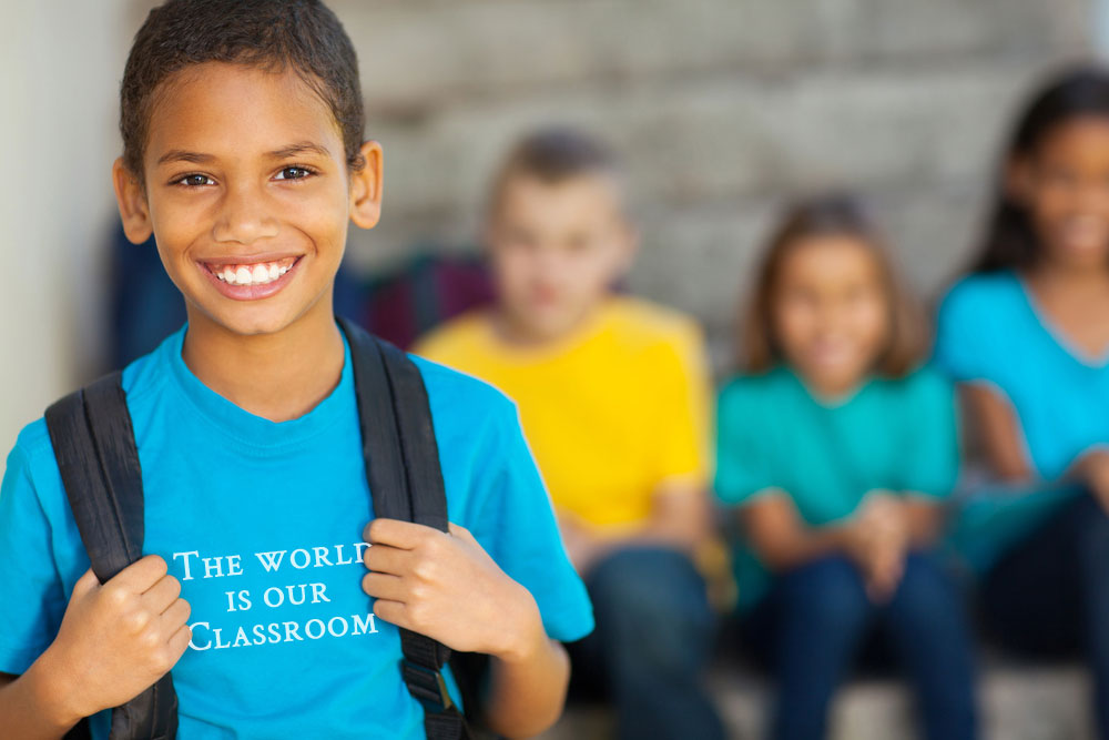 The World is our Classroom | Back to School Inspiration