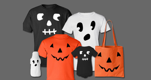 Halloween Costume T-Shirt Ideas | Pumpkin, Skeleton, Ghost