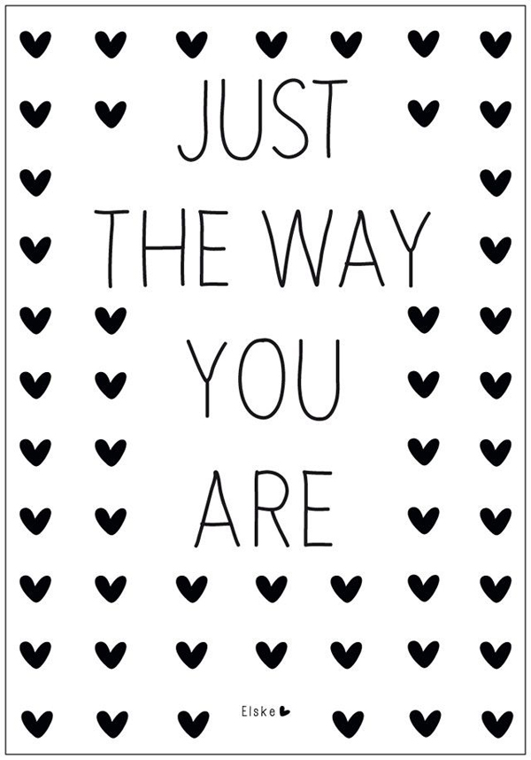 Just the way you are | design inspiration to help stop bullying tshirts