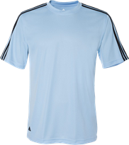 Adidas Golf A72 ClimaLite 3-Stripes T-Shirt
